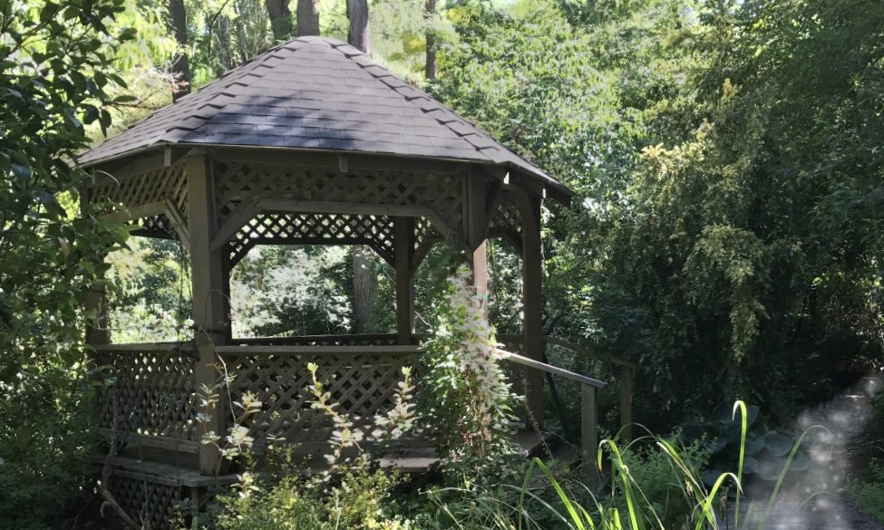 Gazebo at Hidden Forest Nursery